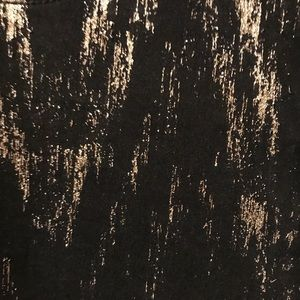 Vibrant Shorts - Black & Gold high waisted shorts